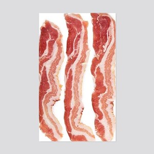 bacon-in-streifen Sticker (Rectangle)